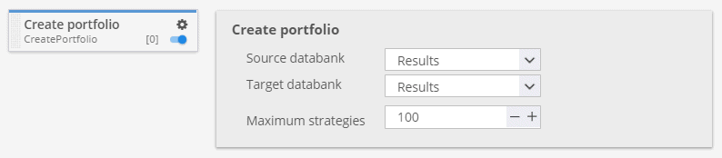 Create portfolio custom project task